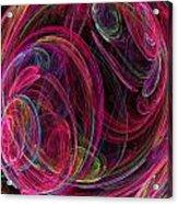 Swirling Energy Acrylic Print