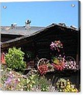 Swiss Chalet Interlaken Acrylic Print