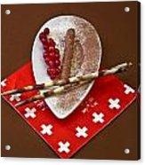 Swiss Chocolate Praline Acrylic Print