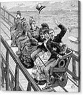 Switchback Railway, 1886 Acrylic Print