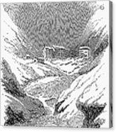 Switzerland: Convent, 1843 Acrylic Print