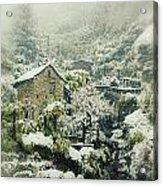 Switzerland In Winter Acrylic Print by Joana Kruse
