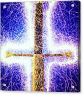 Sword With Sparks Acrylic Print