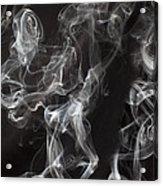 Swriling Smoke  Acrylic Print