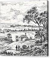 Sydney Cove, Australia, Circa 1790 Acrylic Print