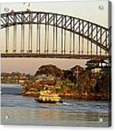 Sydney Harbour Bridge At Dawn Acrylic Print