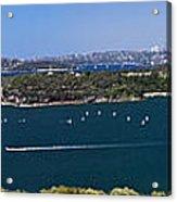 Sydney Harbour panorama Acrylic Print