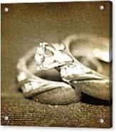 Symbol Of Love Acrylic Print
