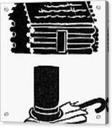 Symbols: Abe Lincoln Acrylic Print