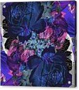 Symetry Rose Garden Acrylic Print