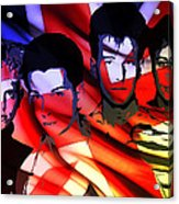 Synthesizer Heros Acrylic Print