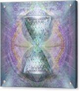 Synthesphered Grail On Caducus Blazed Tapestrys Acrylic Print