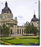 Szechenyli Baths - Budapest Acrylic Print