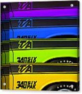 T/a 340 Six Pak Acrylic Print