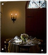 Table In Elegance Acrylic Print