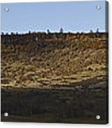 Table Rock Panorama Acrylic Print