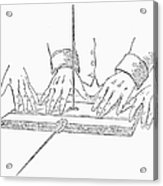 Table-turning Device, 1853 Acrylic Print