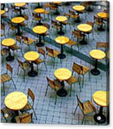 Tables And Chairs II Acrylic Print