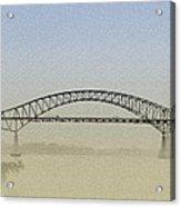 Tacony - Palmyra Bridge Acrylic Print