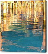 Tahitian Reflection Acrylic Print