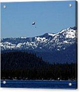 Tahoe Parasailing Acrylic Print