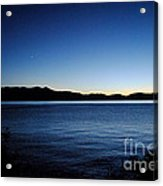 Tahoe Sunset  Acrylic Print