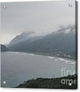 Taiwan Inlet With Clouds Acrylic Print