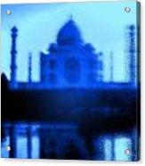 Taj Mahal Blues Acrylic Print
