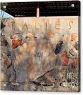 Taliesin Entry - Arizona Acrylic Print