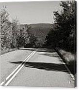 Talimena Roads I Acrylic Print