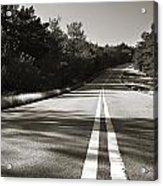 Talimena Roads II Acrylic Print