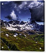 Talkeetna Mountains In Summer Acrylic Print