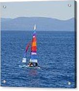 Tall Sail Acrylic Print