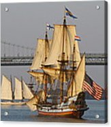 Tall Ship Five Acrylic Print