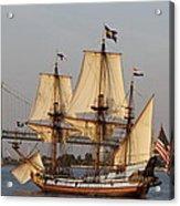 Tall Ship Four Acrylic Print