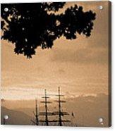 Tall Ship Gorch Fock Acrylic Print