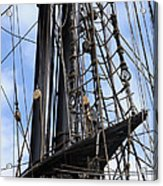 Tall Ship Mast Acrylic Print