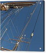 Tall Ship Rigging 1 Acrylic Print