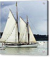Tall Ship Tacoma Acrylic Print by Bob Christopher
