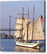 Tall Ship Three Acrylic Print