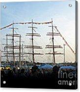 Tall Ships 2009. Klaipeda. Lithuania Acrylic Print