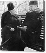 Tamm And Kurchatov, Soviet Physicists Acrylic Print