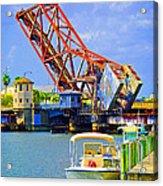 Tampa Drawbridge Acrylic Print