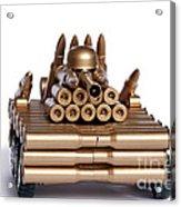 Tank From Shells Acrylic Print