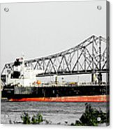 Tanker Baton Rouge Acrylic Print
