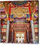 Taoist Temple 6 Acrylic Print