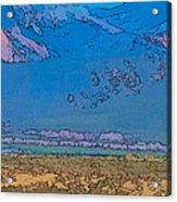 Taos Abstract Acrylic Print
