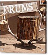 Taos Drum Shop Acrylic Print
