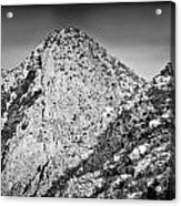 Taos Mountain 3 Acrylic Print by Lisa  Spencer