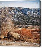 Taos Mountain View 1 Acrylic Print
